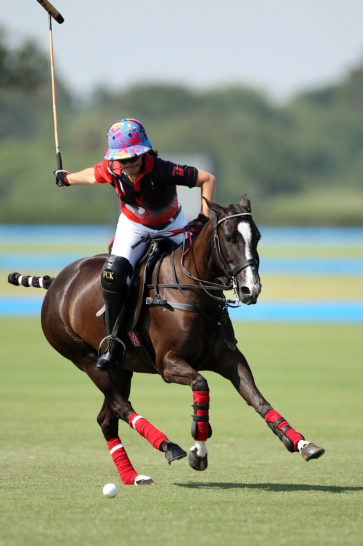 Postage Stamp Farm's Annabelle Gundlach scored the first two goals of the final against Old Hickory Bourbon.