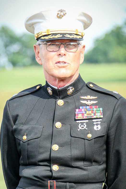 Trophy presenter 22 Hank22 Lieutenant Colonel Henry A Detering US Marine Corps Retired web