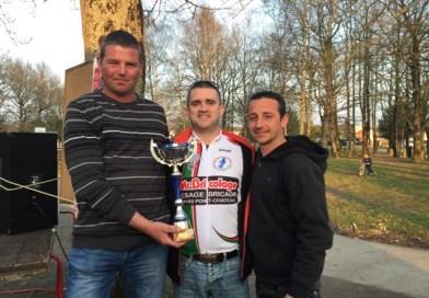 Nos trois pontchatelains, candidats à l'examem d'arbitre école de vélo !