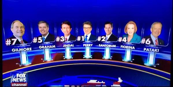 5pm Fox News Debate