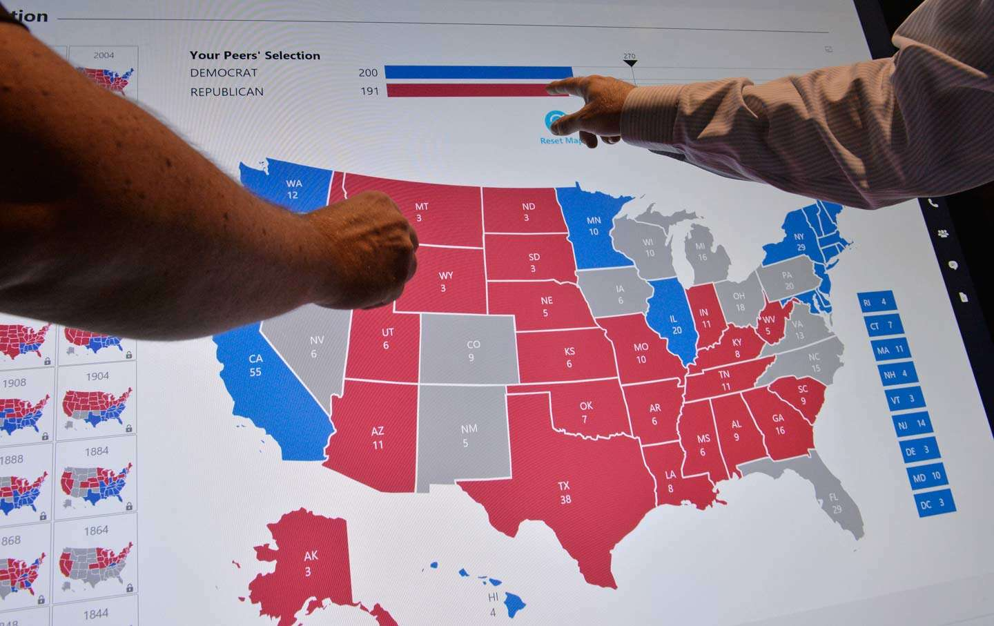 FileCurrent US Electoral College Polling MapPNG Wikimedia - Us election map final