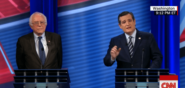 Full Video: Bernie Sanders and Ted Cruz Debate