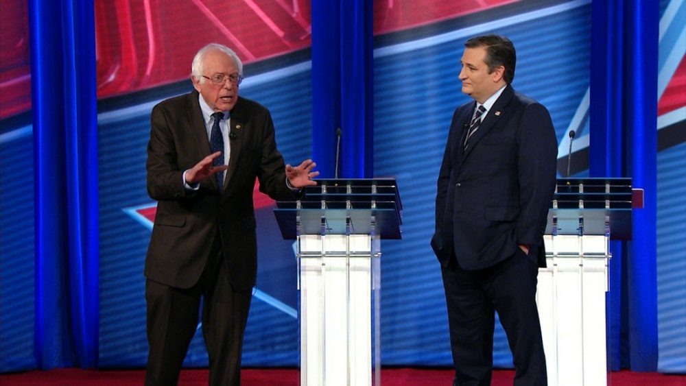 Video: Ted Cruz and Bernie Sanders Debate Tax Reform