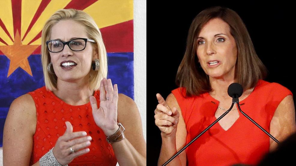 Race Spotlight: Arizona Senate - Sinema (D) vs. McSally (R)