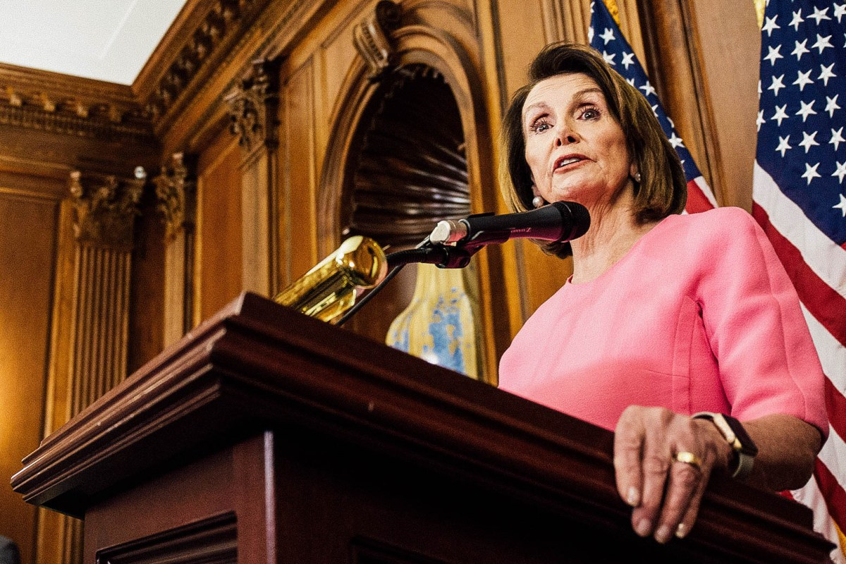 Pelosi in Tough Battle for Speaker's Gavel