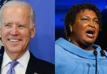 Joe Biden Stacey Abrams 2020