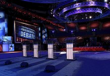2020 Democratic Debate Stage