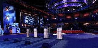 2020 Democratic Debate Stage