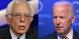 Biden and Bernie in New Hampshire