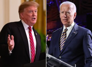 Donald Trump Joe Biden attack 2020