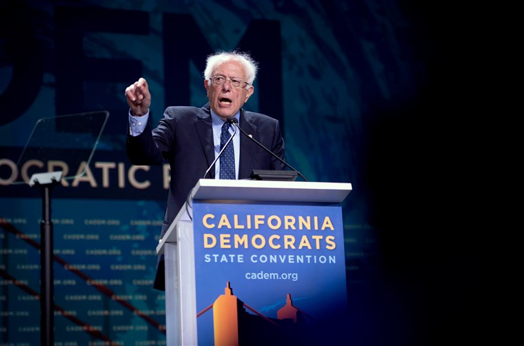 Bernie Sanders California Democratic Convention