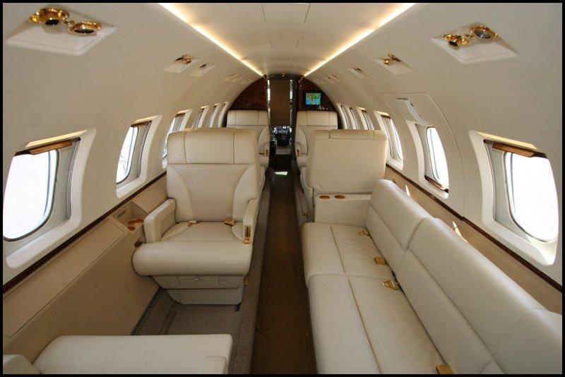 Falcon 2000 Interior