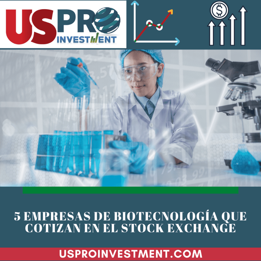 Us Pro All Investment 5 empresas de biotecnologia