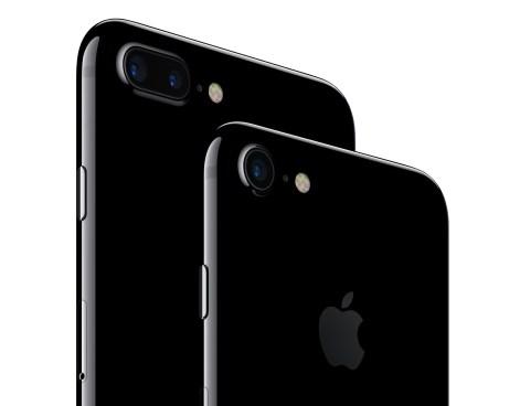 iPhone iPhone 7 y 7 Plus cuentan con sistemas de cámaras de nuevo avance, la mejor vida de la batería siempre en un iPhone, y el agua y al polvo.