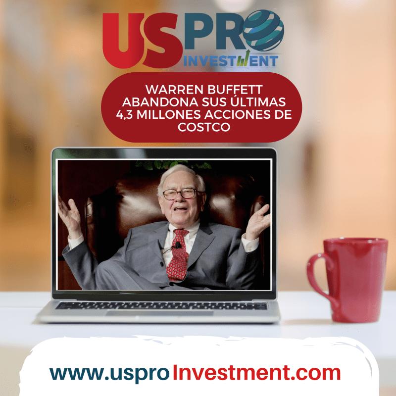 Warren Buffett abandona sus últimas 4,3 millones acciones de Costco