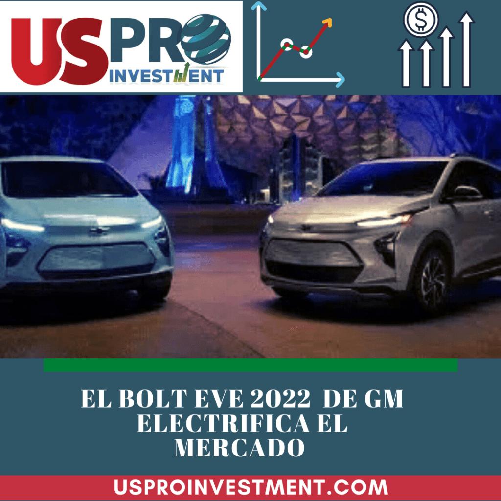 El Bolt EV 2022 de GM electrifica el mercado