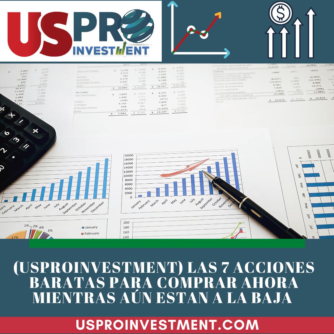 Us Pro All Investment 7 acciones bursatiles baratas baja