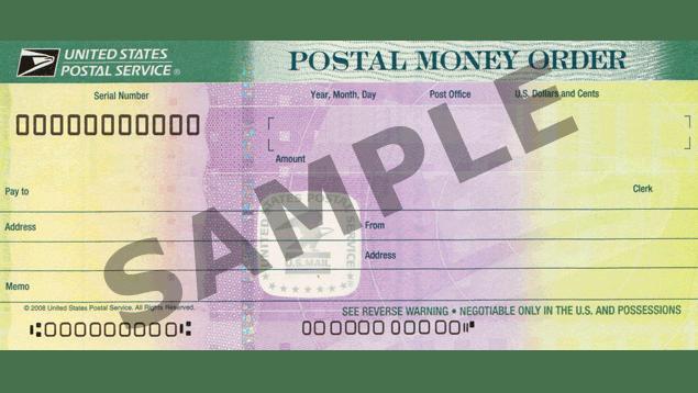 Money Orders Usps