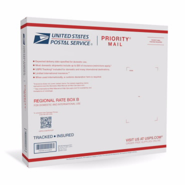 Priority Mail Regional Rate Box - B2