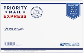 Priority Mail Express Legal Flat Rate Envelope