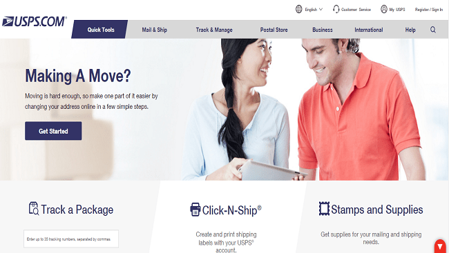 USPS Official Site