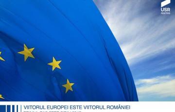 """Rezoluția USR de la Timișoara: """"Viitorul Europei este și viitorul României: primul pas spre Sibiu 2019"""""""