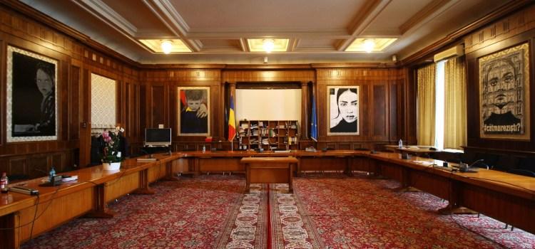 Expoziție de artă contemporană, la grupul USR din Parlament