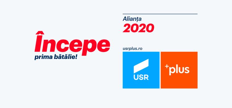 Candidații Alianței 2020 USR PLUS pentru Parlamentul European