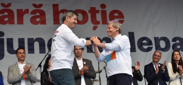Alianța 2020 USR PLUS, primul miting electoral la Cluj-Napoca