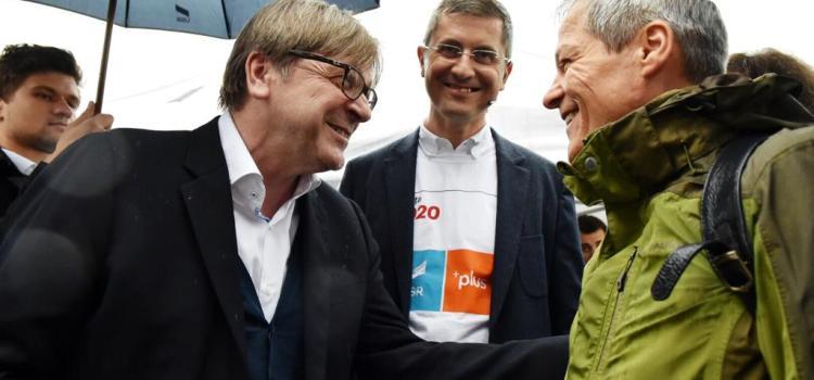 Mitingul Alianței 2020 USR PLUS în București. Dan Barna: Obiectivul Alianței este să dea Președintele, Primarul Capitalei și Premierul