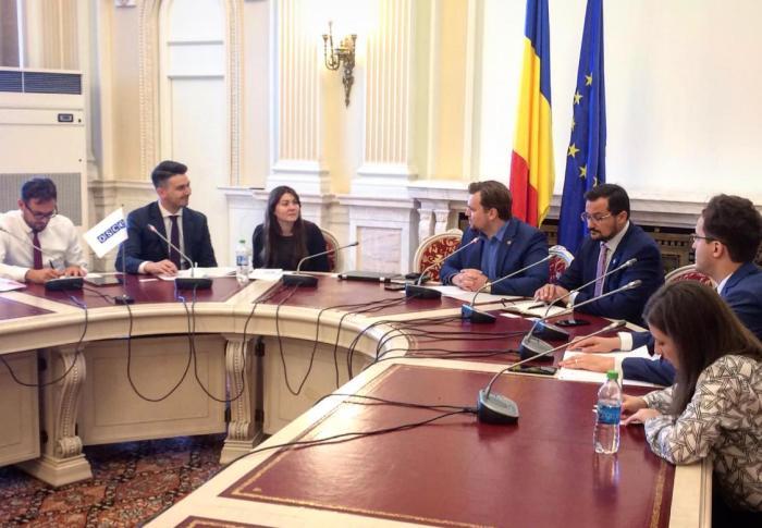 Parlamentarii USR au discutat cu reprezentanții Biroului OSCE pentru Instituții Democratice și Drepturile Omului