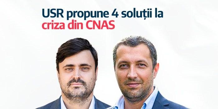 USR cere demisia președintelui și a purtătorului de cuvânt al CNAS și implementarea de urgență a patru măsuri