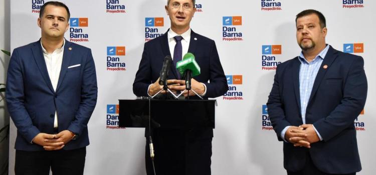 Dan Barna la Bacău: Soluția actualei crize politice o reprezintă organizarea alegerilor anticipate