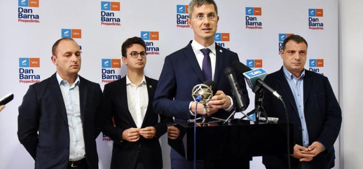 Dan Barna și-a prezentat programul de Președinte în Roman, județul Neamț