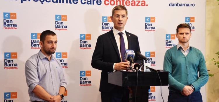 Dan Barna, în Timișoara: Prima condiție pentru susținerea noului Guvern este organizarea alegerilor anticipate