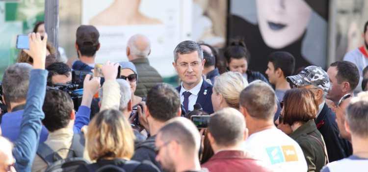Dan Barna, în Constanța: Spiritul lui Liviu Dragnea este pe buletinul de vot și se numește Viorica Dăncilă. Tur 2 fără PSD