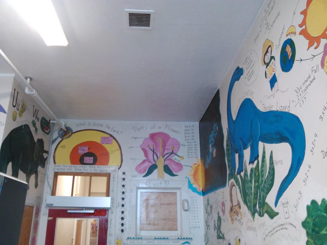 Painted Bathrooms