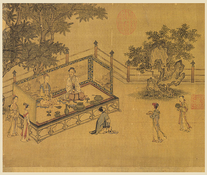 An illustration to *The Classic of Filial Piety*