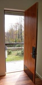1 open door