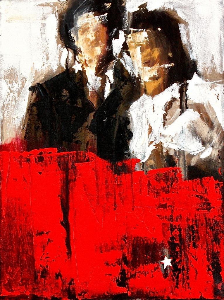 The Inheritance, oil on canvas, 9 x 12, Star Dust 2013, $700.00