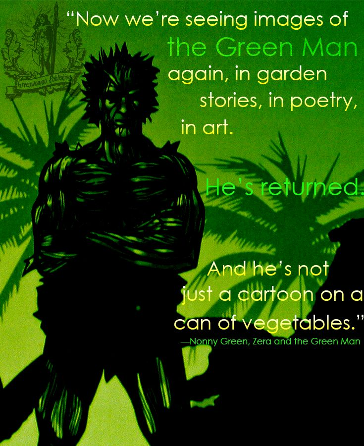 Zera Pin - Green Man