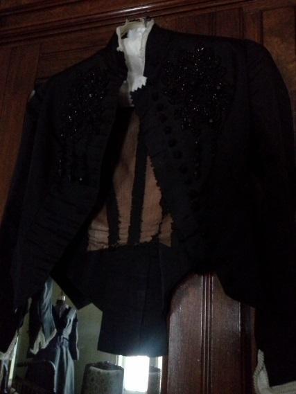 Elizabeth's hand-beaded jacket. Photo courtesy of Sherrie Horn.