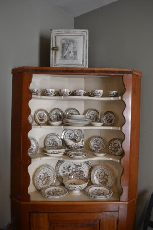 A Wedgwood china set gifted by Julie Penrose. Photo courtesy of Sherrie Horn.