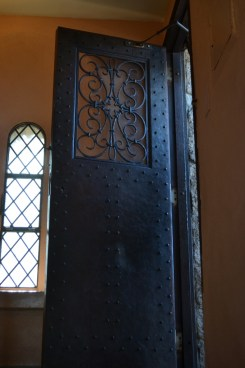 One of many hand-wrought doors. (Credit: Sherrie Horn)