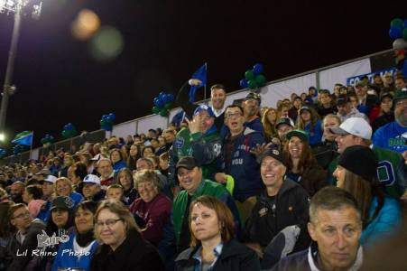 Fans at the Doherty Homecoming game. (Credit: Lil Rhino Photo, and Bill Rinhart)