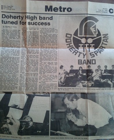 A February 21, 1983 Gazette article about our Nationals trip. (Credit: DeLyn Martineau)
