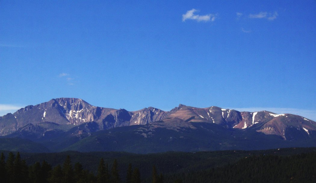 Pikes Peak on a Clear Day