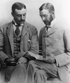 Spencer Penrose and Charles Tutt were good friends and business partners. (Credit: Penrose Library Digital Collection)
