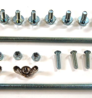 Racing Power Company R0006 Oil Pan Bolt Kit for Small Block Chevy