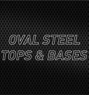 Oval Steel Air Cleaner Tops & Bases